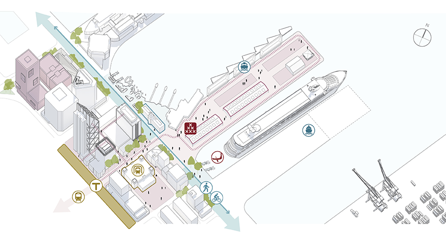 Queens Wharf provides a versatile series of public spaces at the heart of Auckland's waterfront.